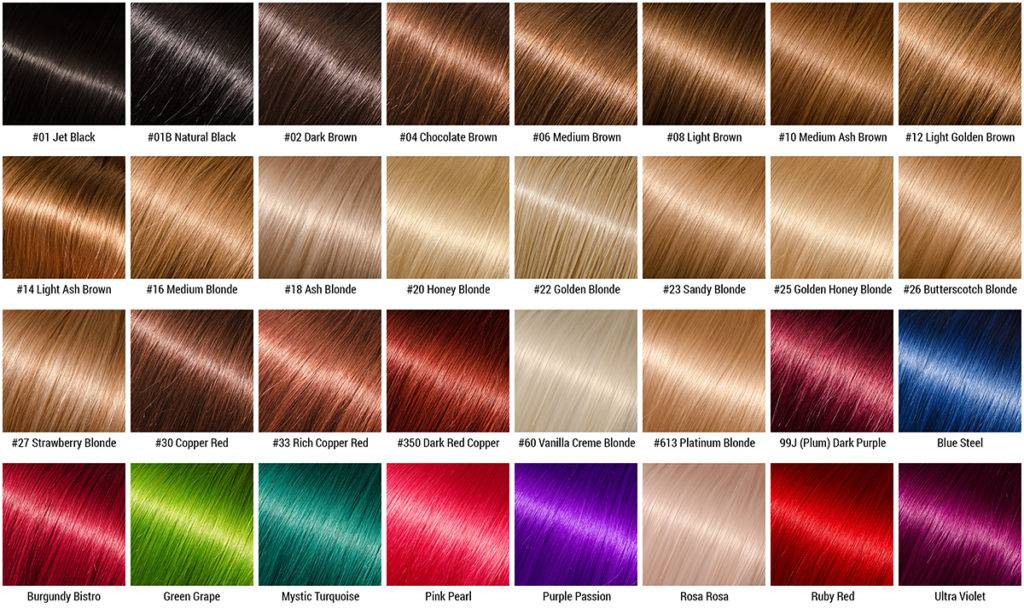 Brazilian Remy Hair Color Chart Best Hair Color 2018